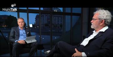 """Night Talk: """"Wir leben leider nicht mehr in einer Demokratie"""" C. W. Holzapfel bei Petr Bystron"""