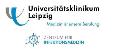 Dr. Lübbert und Prof. Rodloff forschen im Zentrum für Infektionsmedizin des Universitätsklinikums Leipzig.