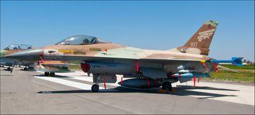 Israel: Israelische F16A Netz-107