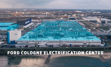 Ford Cologne Electrification Center in Köln-Niehl / Bild: Ford-Werke GmbH Fotograf: Ford-Werke GmbH