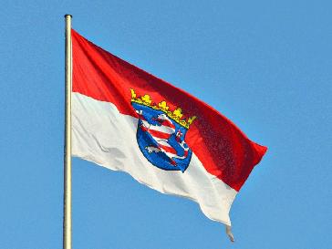 Hessische Landesflagge (Symbolbild)