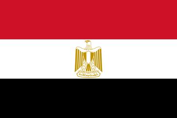 Flagge der Arabische Republik Ägypten