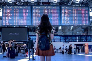 Tourismus Flughafen
