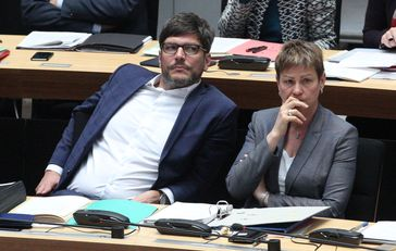 Dirk Behrendt und Elke Breitenbach (2017)