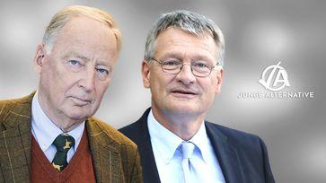 AfD-Bundessprecher Prof. Dr. Jörg Meuthen und Dr. Alexander Gauland: AfD prüft Gründe für Verfassungsschutz-Beobachtung der JA-Landesverbände
