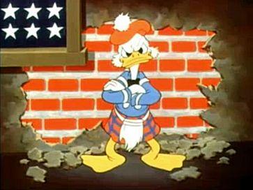 Eine mögliche Vorgänger-Figur aus dem Kurzfilm The Spirit of '43
