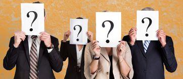 Fragezeichen, Anonym, Unbekannt, Schatten, Spion & Silouette (Symbolbild)