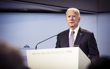 Biden während der 55. MSC 2019