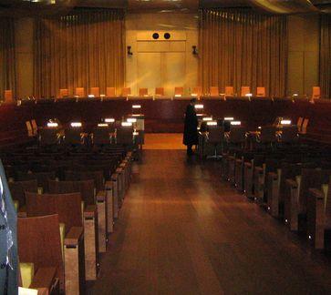 Europäischer Gerichtshof: Großer Saal mit 13 Richtern