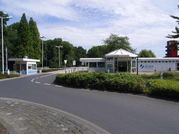 Haupteingang zum Forschungszentrum Jülich