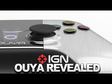 "Screenshot aus dem Youtube Video ""IGN News: The Ouya Unveiled"""