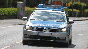 Polizeifahrzeug (Symbolbild)