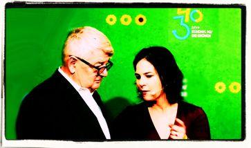 Joschka Fischer und Annalena Baerbock (2021)