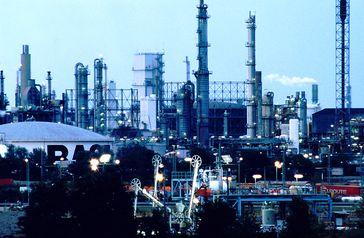 Blick auf das BASF Werk