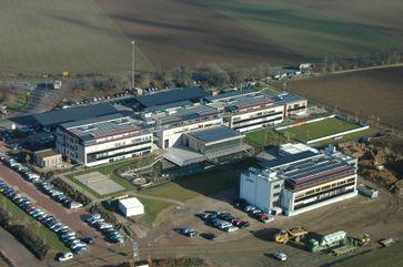 Unternehmenszentrale der Juwi AG in Wörrstadt