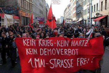 Nicht angemeldete Demonstration am 1. Mai 2006 in Berlin-Kreuzberg