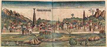 Wien in der Schedelschen Weltchronik, 1493