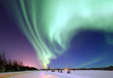 Polarlicht über Alaska