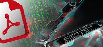 """Aktuelle Malware-Warnung: Emotet wird über PDF-Dokumente und Apple-Scam verteilt Bild: """"obs/G Data Software AG"""""""