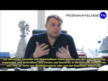 """Screenshot aus dem Youtube Video """"Russischer Abgeordneter: Deutschland ist eine ganz gewöhnliche US-Kolonie"""""""