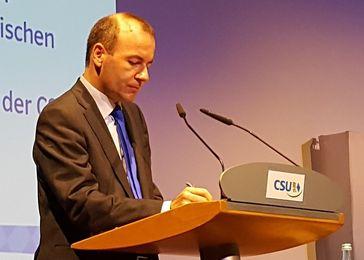 Manfred Weber (2016)