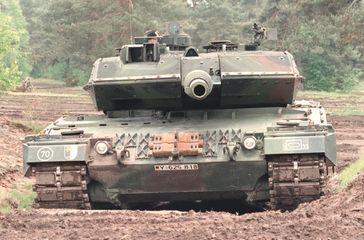 Panzer der deutschen Bundeswehr (Symbolbild)