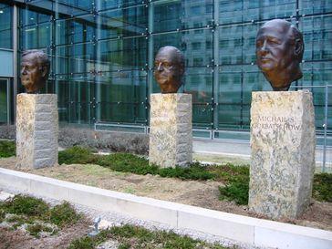 Denkmal Väter der Einheit in Berlin-Kreuzberg