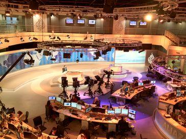 News-Room von Al Jazeera English
