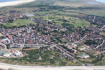 Luftbild von Borkum