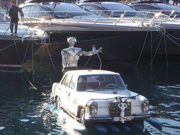 Mercedes parking space Monaco /Bild: Heiko Saxo Fotograf: Heiko Saxo