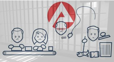 Mit Hilfe von Sanktionen werden Menschen in Lohnsklaverei gezwungen (Symbolbild)