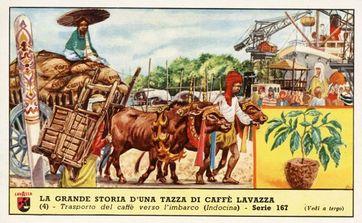 Werbekarte von Lavazza (um 1900)