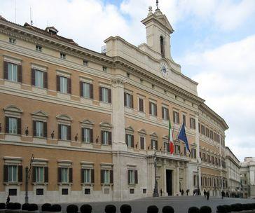 Palazzo Montecitorio in Rom, Sitz der Abgeordnetenkammer
