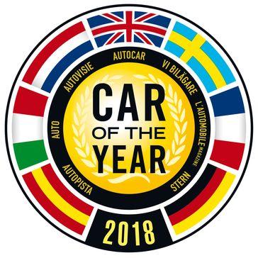 """Logo """"Car of the Year"""" 2018 Bild: """"obs/Gruner+Jahr, STERN"""""""