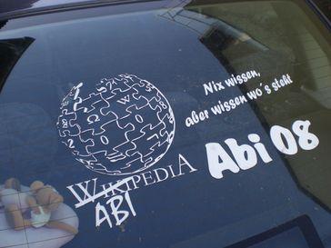 Ein an Wikipedia angelehntes Abi-Thema
