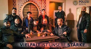 Polizei Berlin. Vielfalt ist unsere Stärke (Symbolbild)