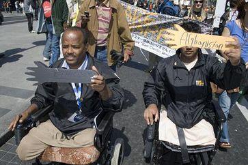 Opfer des Einsatzes von Streumunition (Symbolbild)