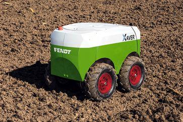Fendt Xaver Robotereinheit