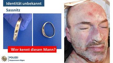 Bild: Polizei Sassnitz, unbekannte Person