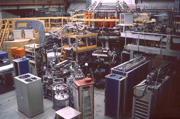 Wendelstein 7-AS, bis 2002 in Garching betriebener Stellarator
