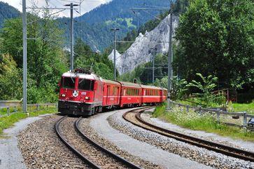 Rheintalbahn in der Schweiz