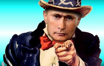 """""""Böser Russe"""": Ein bliebtes Märchen von NATO Befohlenen Kriegstreibern (Symbolbild)"""