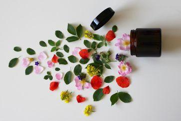 Naturkosmetik verwöhnt die Haut mit natürlichen Inhaltsstoffen. Selbst empfindliche Haut lässt sich mit ihr das ganze Jahr hindurch pflegen.