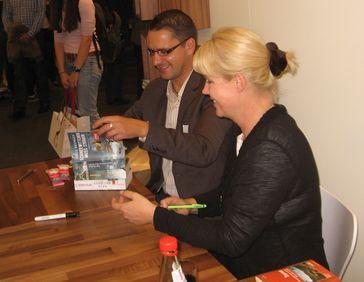 Nele Neuhaus auf der Frankfurter Buchmesse 2012