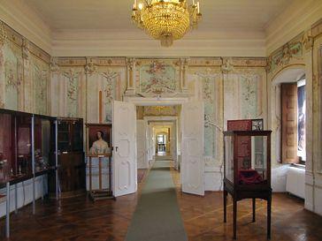 Schloss Nádasdy im inneren.