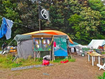 Hambacher Forst: Protestcamp (2013)