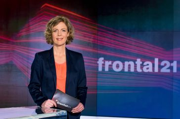 """Moderatorin Ilka Brecht / Bild: """"obs/ZDF/Svea Pietschmann"""""""
