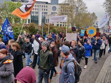 Erneut Demonstrationen für ein freies Internet in Baden-Württemberg