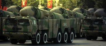 Chinesische mobile Rakten (Symbolbild)