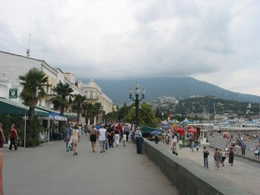 Meerpromenade von Jalta